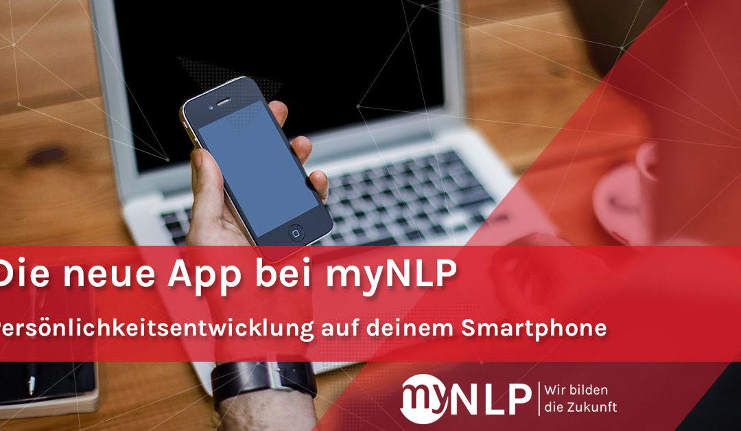 MyNLP gibt es jetzt auch in Smartphonegröße! Die neue App