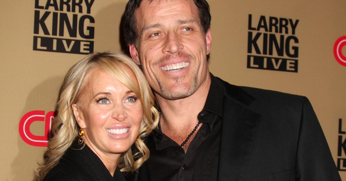 Tony Robbins mit seiner Gattin.